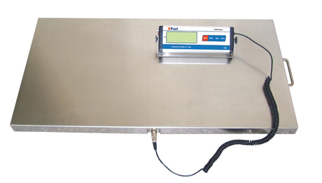 FCW animal weighing pet/vet/dog/livestock scale with stainless steel platform